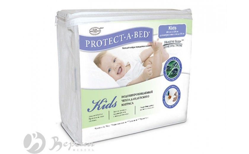 Чехол для матраса Protect-a-Bed Kids 80x200 - Фото